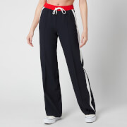 Tommy Hilfiger Women's Fluid Crepe Track Pants - Desert Sky/Colourblock