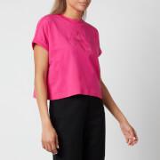 Calvin Klein Jeans Women's Tonal Monogram T-Shirt - Party Pink