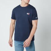 Tommy Jeans Men's Chest Logo T-Shirt - Twilight Navy