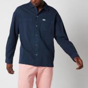 Tommy Jeans Men's Lightweight Twill Overshirt - Twilight Navy