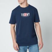 Tommy Jeans Men's Timeless Box Logo T-Shirt - Twilight Navy