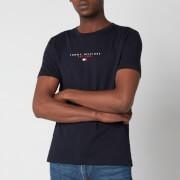Tommy Hilfiger Men's Essential Chest Logo T-Shirt - Desert Sky