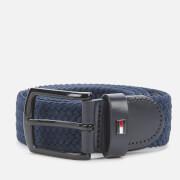 Tommy Hilfiger Men's Denton Elastic 3.5 Belt - Desert Sky