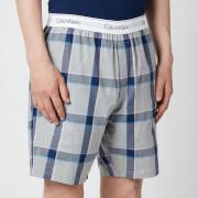 Calvin Klein Men's Modern Cotton Pyjama Shorts - Tinton Plaid/Grey Heather