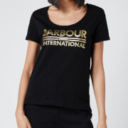 Barbour International Women's Wheelspin T-Shirt - Black