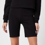 Les Girls Les Boys Women's Jersey Apparel Tight Shorts - Black