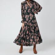 Free People Women's Feeling Groovy Maxi Dress - Forest Combo