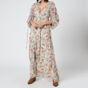 Free People Women's Earthfolk Maxi Dress - Tea Combo