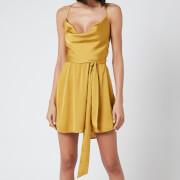 Free People Women's Good Company Slip Dress - Eternal Gold