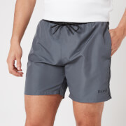 BOSS Swimwear Men's Starfish Swimshorts - Open Grey