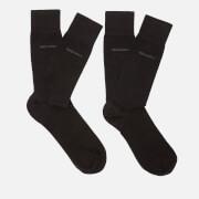 BOSS Men's Two Pack Socks Gift Set with Bag - Black