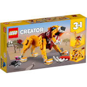 LEGO Creator: 3 in 1 Wild Lion Building Set (31112)