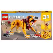 LEGO Creator: 3 in 1 Wild Lion Building Set (31112)