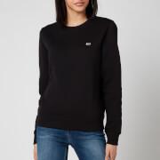 Tommy Jeans Women's Regular Fleece Sweatshirt - Black