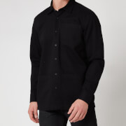 Barbour International Men's Patch Overshirt - Black
