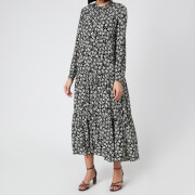 Whistles Women's Daisy Spot Trapeze Dress - Black/White