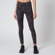 Varley Women's Century 25 Inch 2.0 Leggings - Iron Grey Cheetah