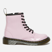 Dr. Martens Kids' 1460 Patent Lamper Lace Up Boots - Pale Pink