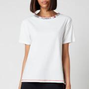 Tommy Hilfiger Women's Logo Collar T-Shirt - White