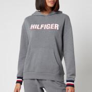 Tommy Hilfiger Women's Recycled Logo Hoodie - Zinc -