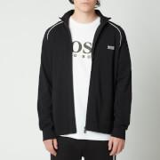 BOSS Bodywear Men's Mix&Match Regular Fit Zip Through Jacket - Black