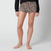 Calvin Klein Women's Leopard Sleep Shorts - Leopard