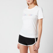 Calvin Klein Women's Short Sleeve Pride Pyjama Set - Black/White