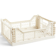 HAY Colour Crate Off White - M