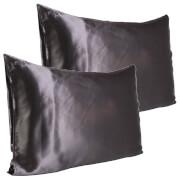 Slip Pure Silk Pillowcase Duo - Queen - Charcoal