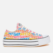 Converse Women's Chuck Taylor All Star My Story Platform Ox Trainers - Multi