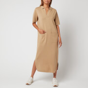 Whistles Women's Polo Neck Knitted Dress - Camel