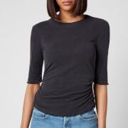 Free People Women's Talk To Me T-Shirt - Black