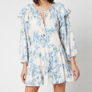 Free People Women's Sunbaked Swing Mini Dress - Tea Combo