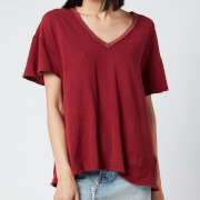 Free People Women's Joni T-Shirt - Sweet Raisin