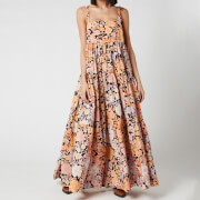 Free People Women's Park Slope Maxi Dress - Dark Combo