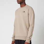 The North Face Men's Raglan Redbox Sweatshirt - Mineral Grey