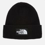 The North Face Logo Box Cuffed Beanie - TNF Black