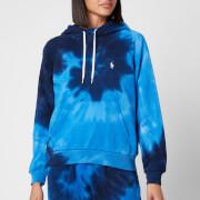 Polo Ralph Lauren Women's Tie Dye Hooded Top - Blue Ocean