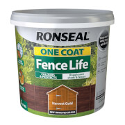 RONSEAL ONE COAT FENCE LIFE HARVEST GOLD