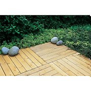 Forest Patio Deck Tile - 90 x 90cm