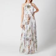 Ted Baker Women's Ammaria Vanilla Pleated Maxi Dress - White