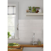 Islington Wall Tile Matt White - 330 x 100mm