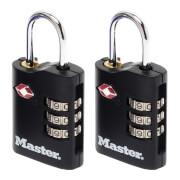 Master Lock TSA Certified Padlocks - 30mm - 2 Pack