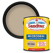 Sandtex Textured Masonry Paint - Mid Stone - 5L