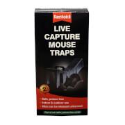 Rentokil Live Capture Mouse Trap (Pack of 2)