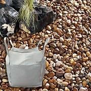 Stylish Stone Coastal Pebbles Bulk Bag - 750 kg