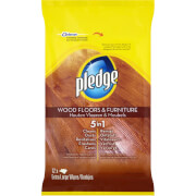 Pledge Floor Wipes - 12 Pack