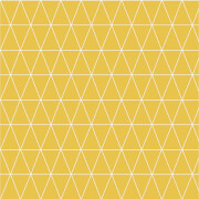 Superfresco Easy Paste the Wall Triangolin Wallpaper - Mustard