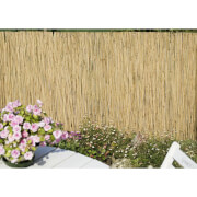 Homebase Sprout Reed Garden Screening - 4 x 1m