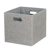 Cube Fabric Insert - Woven Silver